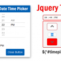 Scrolling-Mobile-Date-Time-Picker
